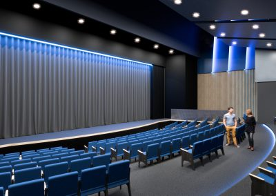 Renovated JCC Theater