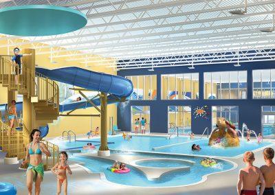 New Indoor Family Recreational Pool