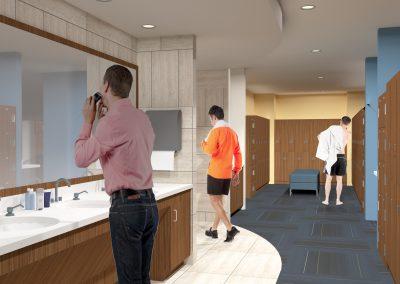 Mens & Womens Locker Room