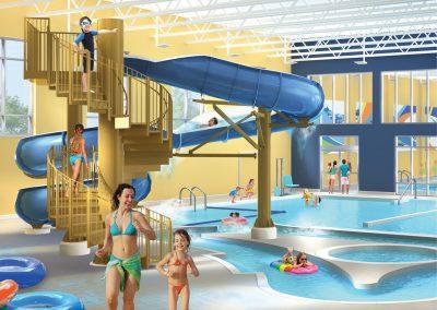Indoor Leisure Pool: Late Spring 2020
