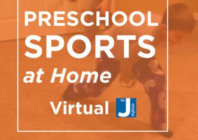 Preschool Sports at Home