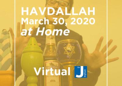 Havdallah March 30th