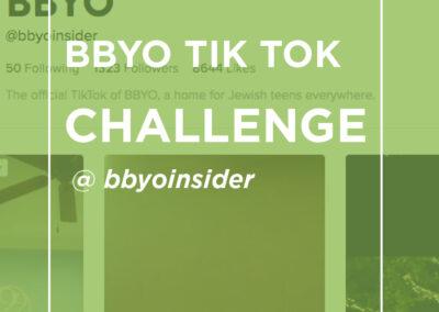 BBYO Tik Tok Challenge