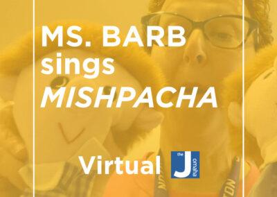 Ms. Barb Sings Mishpacha