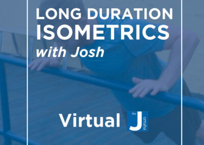 Long Duration Isometrics