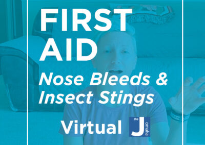 First Aid: Nose Bleeds & Insect Stings