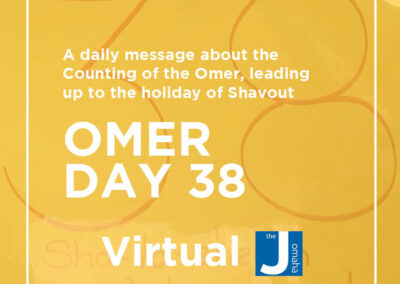 Omer Day 38