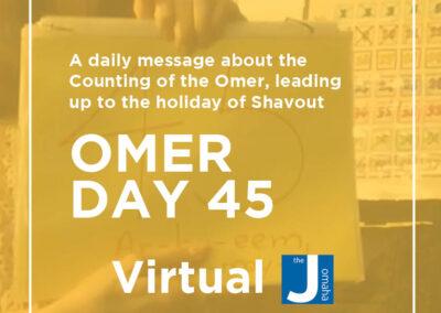 Omer Day 45