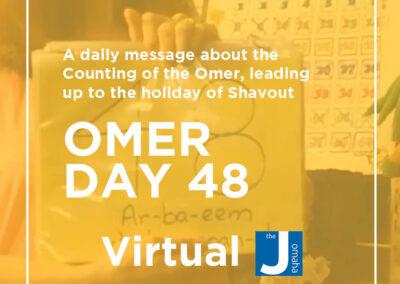 Omer Day 48