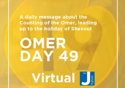 Omer Day 49