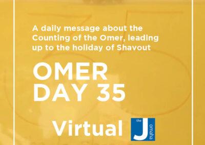 Omer Day 35