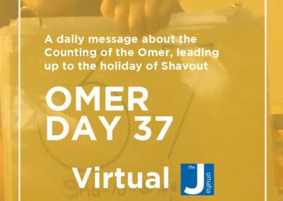 Omer Day 37