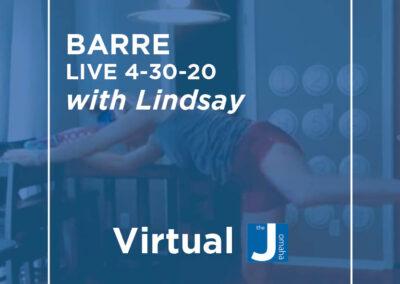 Barre Live 4-30-20