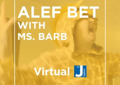 Alef Bet with Ms. Barb